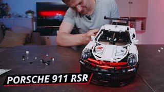 Собираем Порше 911 своими руками из набора Лего Техник 42096. Porsche 911 RSR | Наши тесты