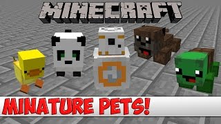 Minecraft Plugin Tutorial - Miniature Pets
