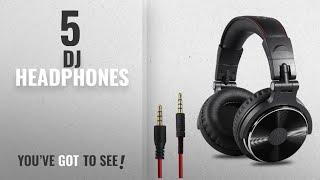 Video Top 10 Dj Headphones [2018]: OneOdio Adapter-free Closed Back Over-Ear DJ Stereo Monitor Headphones, download MP3, 3GP, MP4, WEBM, AVI, FLV Agustus 2018