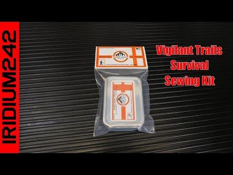Vigilant Trails Pocket Survival Sewing Kit