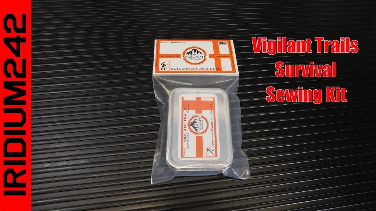 Vigilant Trails® Survival Kit Essentials Sewing Module-1