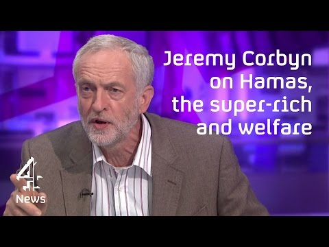 Jeremy Corbyn on Hamas, the Middle East and the super-rich