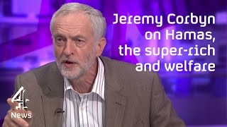 Jeremy Corbyn on Hamas, the Middle East and the super-rich thumbnail