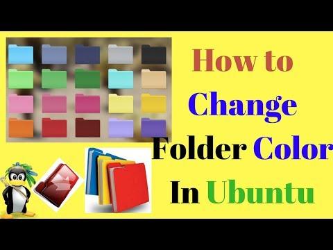 How To Change Folder color in Ubuntu 17.04,16.04,15.04,12.04