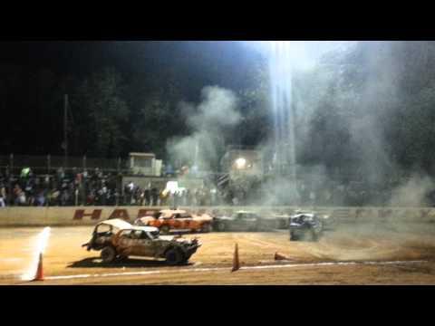 Harris motor speedway demolition