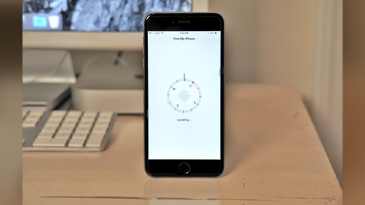 iOS 8 Guide - Find my iPhone or iPad or Mac