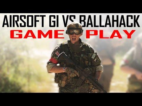 Airsoft GI vs. Ballahack - Secure the Bunker! - Gameplay