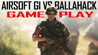 Airsoft Gi Vs. Ballahack - Secure The Bunker! - Gameplay