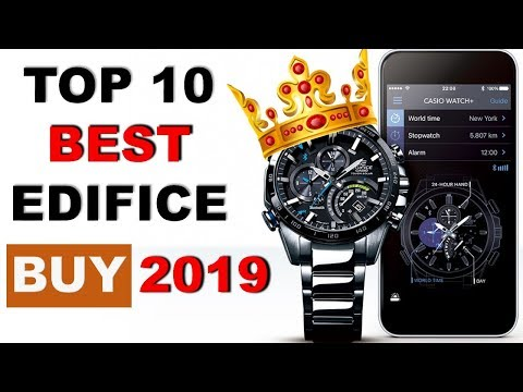 Top 10 Best Casio Edifice Watches For Men To Buy 2019