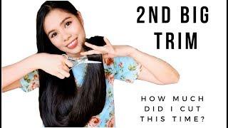 I CUT MY OWN HAIR-  2nd BIG TRIM THIS YEAR- Beautyklove