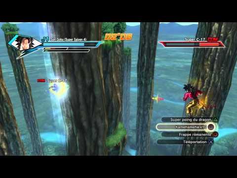 Dragon Ball Xenoverse / Sangoku Super Saiyan 4 X Super C-17