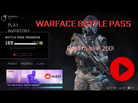 Warface [PS4] - Battle Pass: Road To Level 200!