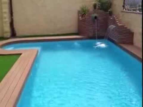Piscina en villanueva de algaidas youtube for Borde piscina hormigon