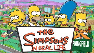 СИМПСОНЫ В РЕАЛЬНОЙ ЖИЗНИ /IRL/ THE SIMPSONS IN REAL LIFE