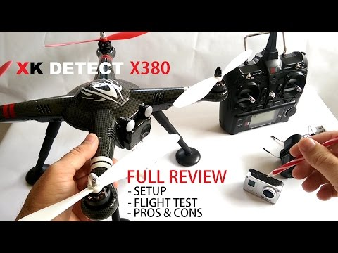 XK Detect X380 GPS QuadCopter Drone Full Review - [Setup, Flight Test, Pros & Cons]