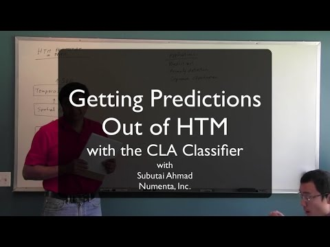 Getting Predictions out of HTM (CLA Classifier)