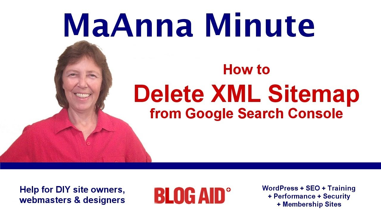 Delete Old XML Sitemap On Google Search Console