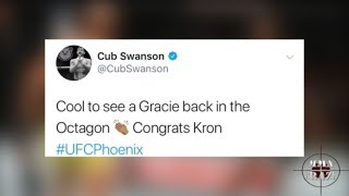MMA Pros React to quick Kron Gracie submission of Alex Caceres at UFC Fight Night Phoenix