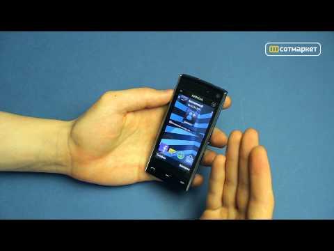Видео обзор Nokia X6 8GB от Сотмаркета