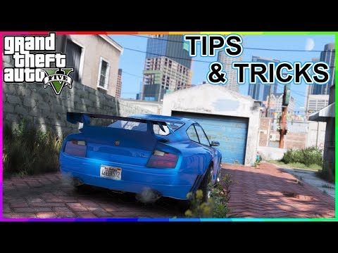 GTA 5 ✪ LIFE HACKS you MUST KNOW! ✪ (PC, PS3, PS4, Xbox One and Xbox 360)