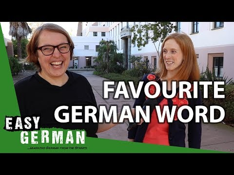 Whats your favourite German word?  Super Easy German 91