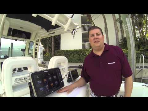 Raymarine at the Fort Lauderdale International Boat Show