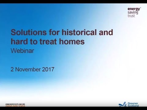 Webinar: Solutions for Historical and Hard-to-Treat Homes