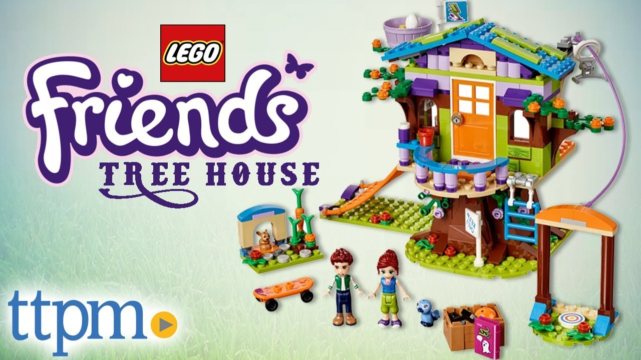 Lego Friends Mias Tree House Build Instructions Review Lego