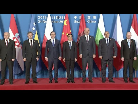 Leaders Arrive at Meeting Venue for Fourth Summit of China, CEE Countries