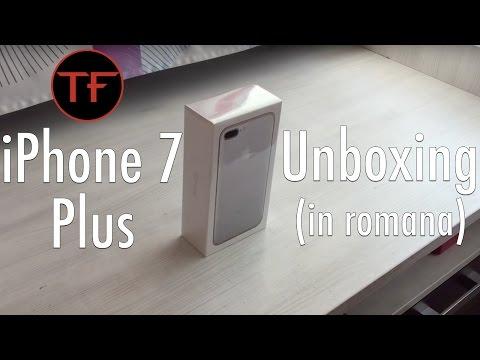 iPhone 7 Plus Argintiu/Silver Unboxing! (in romana)