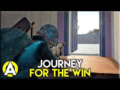JOURNEY FOR THE WIN! - PLAYERUNKNOWN'S BATTLEGROUNDS (Solo)