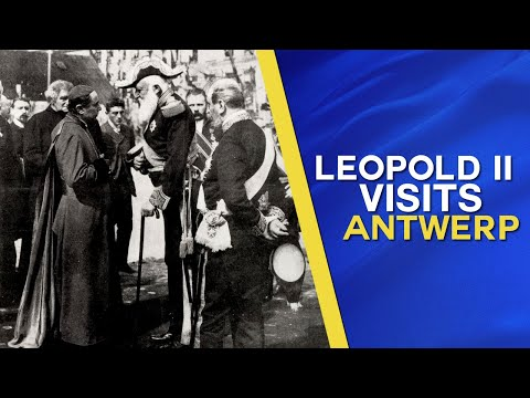 King 'Leopold II, The Great' makes Triumphal Procession in Antwerp (1908)