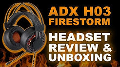 Cheap Gaming Headset! | ADX H03 Firestorm Headset | Review