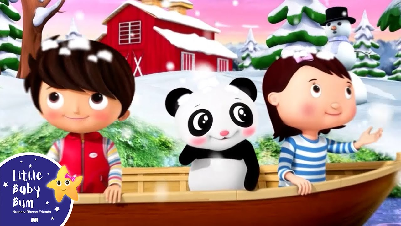 Row Row Row Your Boat | Best Baby Songs | Kids Cartoon | Nursery Rhymes | Little Baby Bum