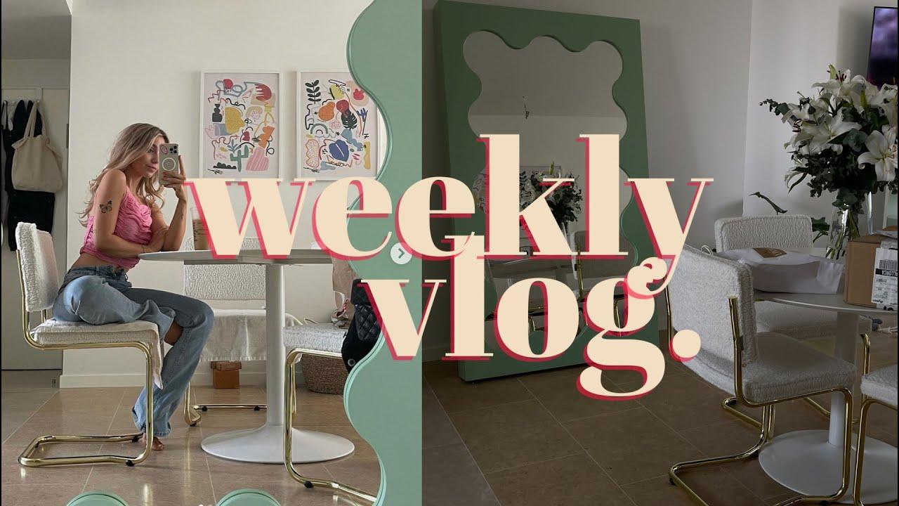 Interior content, birth chart reading, neue Möbel & sephora haul   weekly Vlog