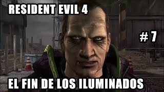 Resident Evil 4 (2016) - El fin de los Iluminados - Directo Walkthrough Español PS4 #7