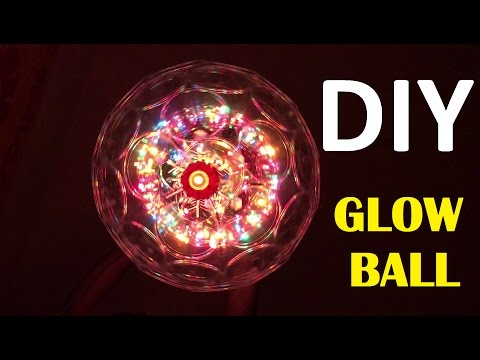 Make Ceiling Sparkle LED Lights Glow Ball Sparkle Ball