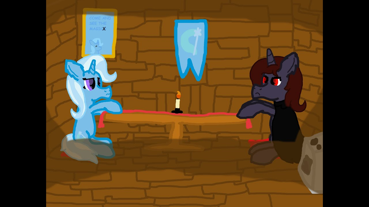 pts contest 2 revenge animation trixie and astelle for
