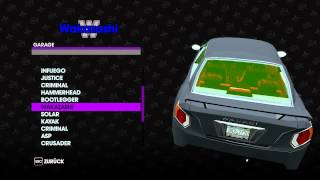 Saints Row 3 Car & Bike Collection [MY GARAGE]