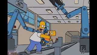 The Simpson - Accident On The Journey To Italy!