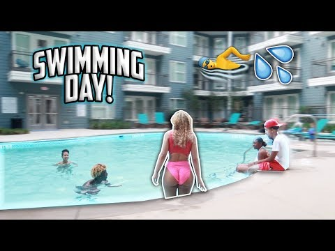 LEARNING HOW TO SWIM  ** I ALMOST DROWNED** | Vanessa Lynn