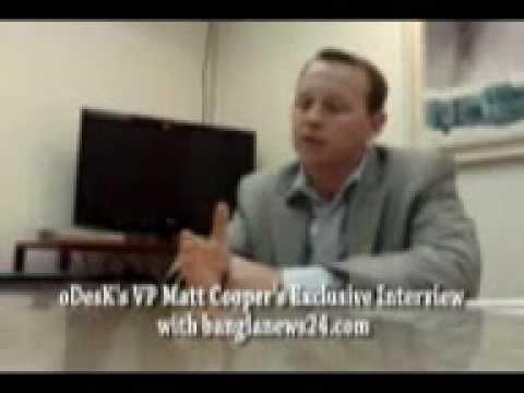 oDesK's VP Matt Cooper's Exclusive Interview with banglanews24.com