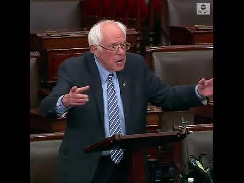 Sen. Bernie Sanders Slams Republican Senators Over $2 Trillion Coronavirus Relief Bill   ABC News