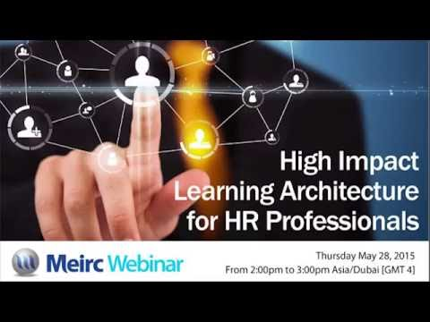 High Impact Learning Architecture for HR Professionals