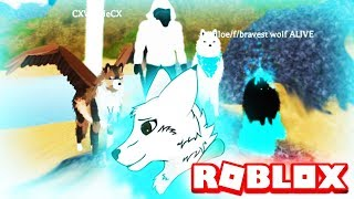 HOWLING HEART ROBLOX (WITH OWNER SPRINTING COYWOLF) Role-playing Game