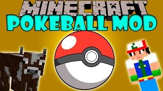 POKEBALL MOD - Agumon yo te elijo!! - Minecraft mod  1.5.2, 1.6.4, 1.7.2, 1.7.10 y 1.8 Review
