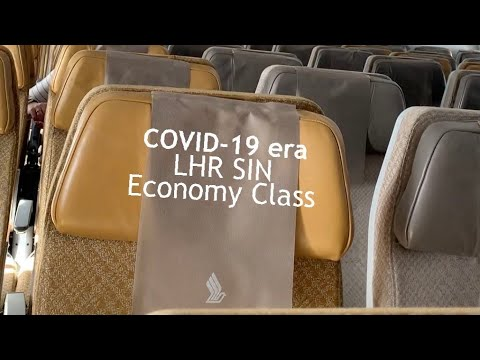 SINGAPORE Airlines During COVID-19: London to Singapore (A350 ECONOMY Class) thumbnail