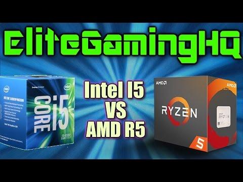 Ryzen R5 Vs Intel I5 The Best $200 CPU AMD Ryzen 1500X ? - YouTube