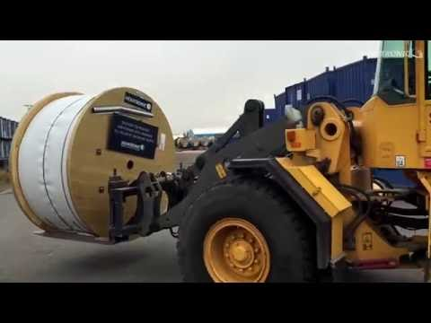 Hexatronic supplies the last cable drum to Skanova Backbone North