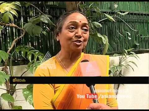 Exclusive Interview with Presidential candidate Meera Kumar